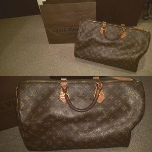 Handbags - LV speedy 35 - vintage
